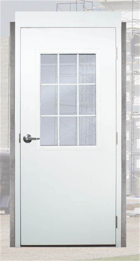 Exterior Steel Doors And Frames Steel Doors For Metal Buildings Prehung Utility Service Doors Commercial Insulated Exterior