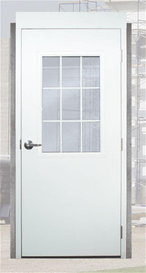24 Exterior Door With Window with Gray 6 Panel Proof Prehung Commercial Entrance Door With Welded Frame Vector White Open