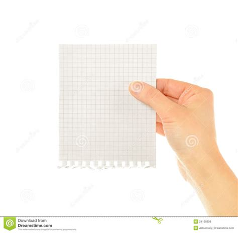 How To Make Paper Holding - holding paper royalty free stock images image 24130809