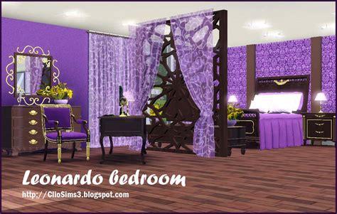 sims 3 bedroom sets my sims 3 blog leonardo bedroom set by clio