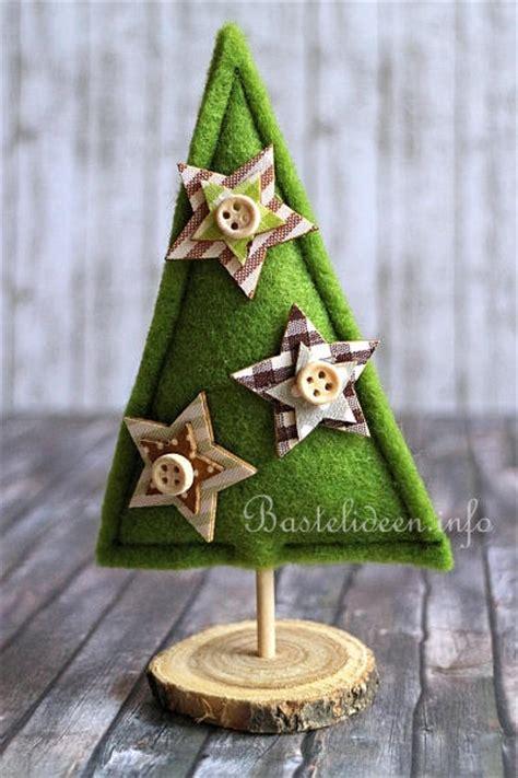 basteln und n 228 hen zu weihnachten kleine weihnachtsb 228 ume