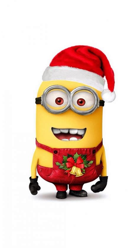 despicable  minion merry christmas iphone  wallpaper hd   iphonewalls