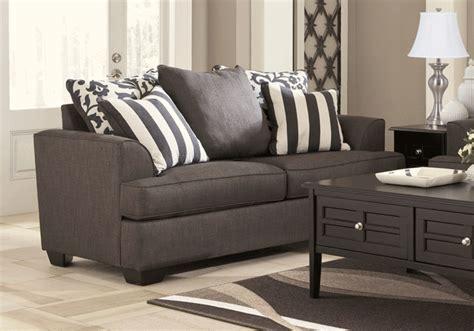 levon charcoal sofa sleeper levon charcoal sleeper sofa overstock