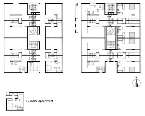 Split Level Plans by Das Bakema Van Den Broek Punkthochhaus