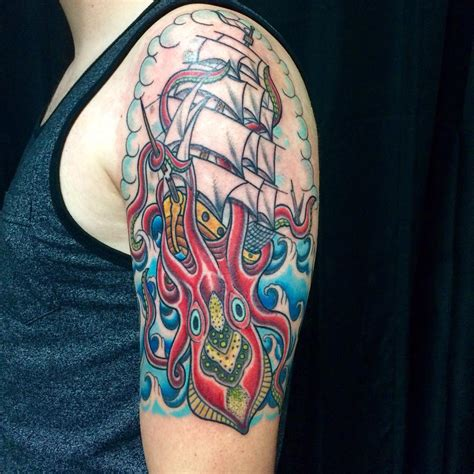 kraken tattoos 60 best kraken meaning and designs legend of the