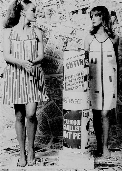 In The 60s Essay a brief history of the paper dress style sixties uk fashion and lifestyle