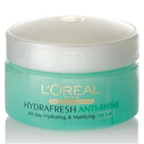 Loreal Hydrafresh Anti Shine s source of review l or 233 al