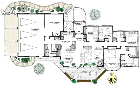 energy efficient floor plans prairie energy efficient home plan a true green house plan