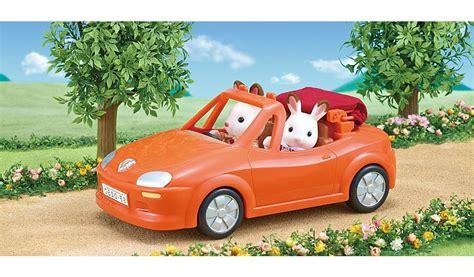 sylvanian families convertible car kids george  asda