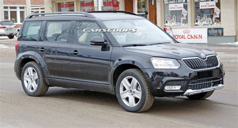 when is the new skoda superbing out skoda rolls out suv test mule will rival hyundai s santa