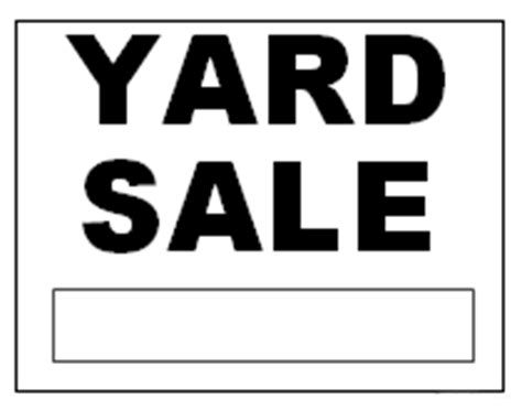 printable yard sale signs garage door with man garage free engine image for user