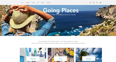 30 Best Wix Templates For Building Your Dream Website Updated 2017 Best Wix Templates