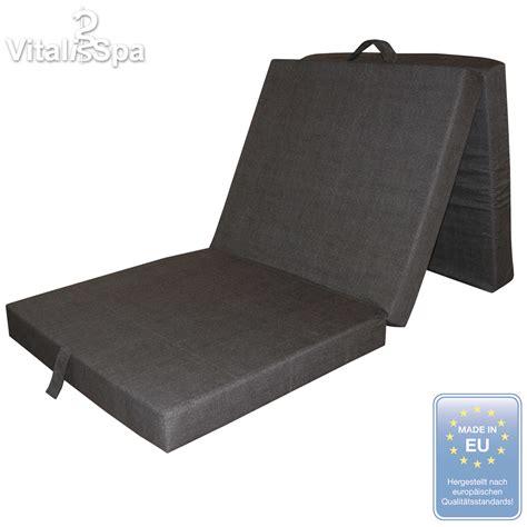 Folding Bed Mattress Vitalispa 174 Folding Mattress Folding Bed Cbed Sofabed Mattress Cot Anthracite
