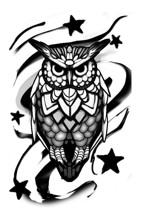 owl design by sphiinx art on deviantart