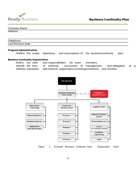 2018 Sle Business Continuity Plan Fillable Printable Pdf Forms Handypdf Healthcare Business Continuity Plan Template