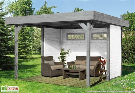 gartenpavillon holz bausatz tonnelle bois kiosk 550x550cm solid