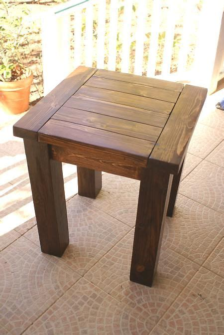 Woodworking Plans Outdoor Side Table