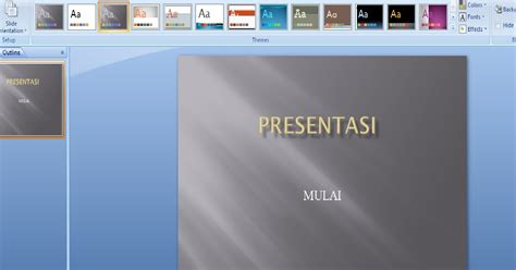 membuat hyperlink di powerpoint 2007 cara membuat hyperlink powerpoint 2007 ramadhan f w