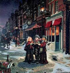 victorian christmas carolers christmas photo 4217580 fanpop