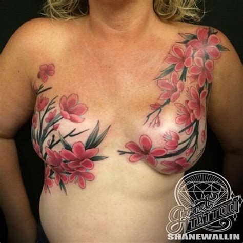 nipple tattoo breast cancer uk 11 inspirational mastectomy tattoos that show the strength