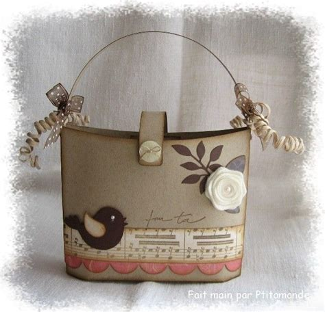 Mini Treat Keeper Set by Un Sac 224 En Scrap Scrap Craft And Scrapbooking