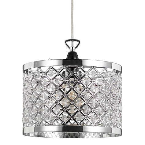 Ceiling Pendant Light Shade Modern Sparkly Ceiling Pendant Light Shade With Clear Haysoms