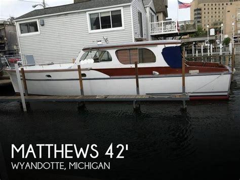 matthews 42 boat matthews 42 stock cruiser 1954 for sale for 20 500