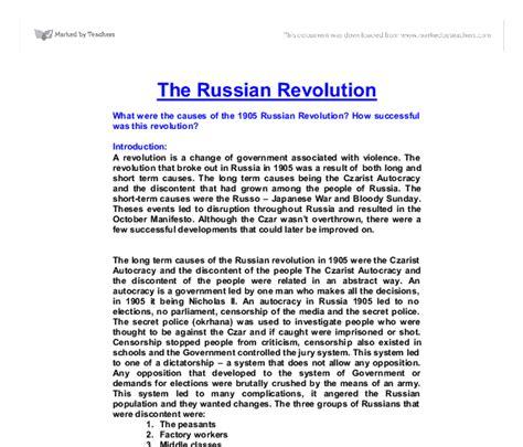 Russian Revolution Essay by 1905 Revolution Russia Essays