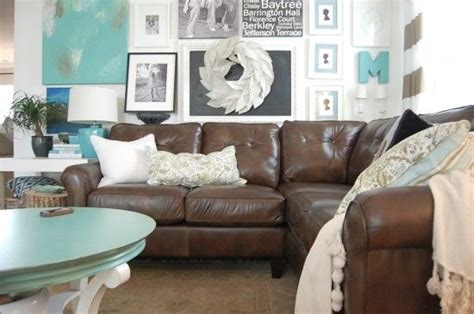 decorating with a brown sofa sectional sofas leather