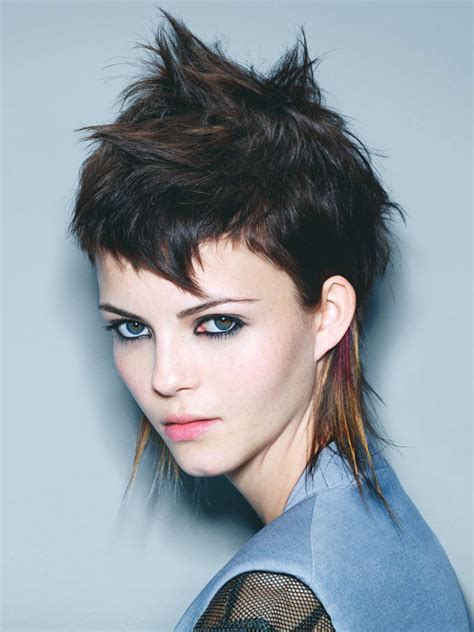 short punk haircuts for curly hair pictures new short punk hairstyles for women short