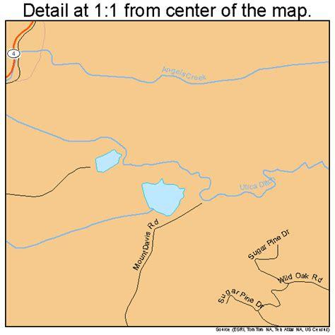 murphys california map murphys california map 0650034