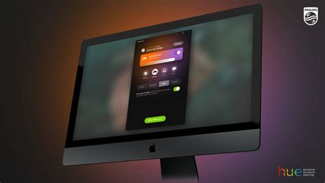 how to sync hue lights with sync philips hue lights to and on mac with the