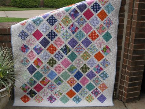Quilt Designs Using Squares by Millie S Quilting Two Charm Square Quilts