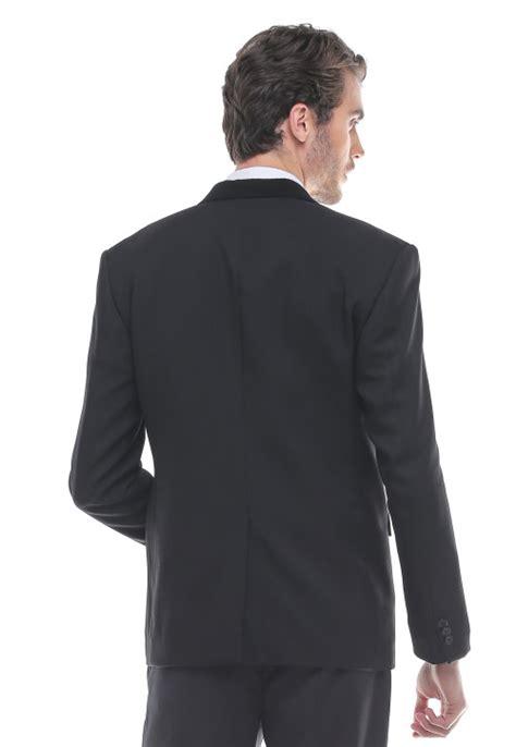 Dsvn Generation Kaos Pria Hitam slim fit jas kerah warna hitam