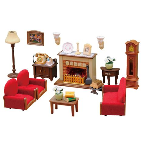 sylvanian families luxury living room set 163 20 00