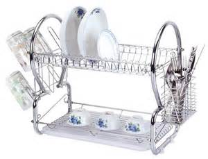 stainless steel 2 tier dish rack sk collection