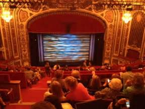 Cadillac Palace Theatre Seating Cadillac Palace Theater Section Balcony C Row P Seat