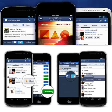 pandora app android pandora for iphone and android popsugar tech