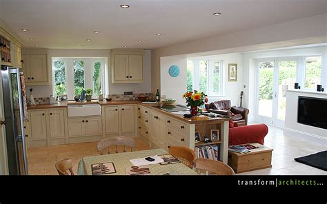 extension kitchen ideas traditional chic transform architects house extension