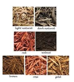 colors of mulch mulch colors landscapes