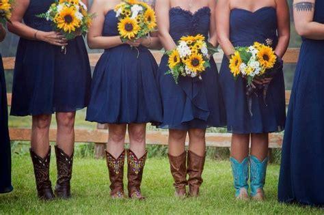 25  best ideas about Navy bridesmaids on Pinterest   Navy