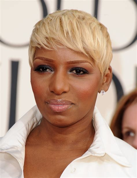 blonde short hair cut on dancing with the stars nene leakes beauty looks hype hair