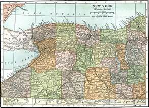 Western New York Map by Western New York