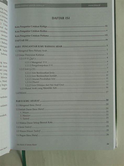 Ilmu Nahwu Sharaf Praktis2 Buku buku ilmu sharaf untuk pemula