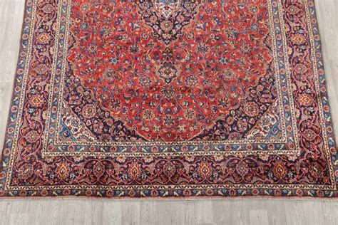 9 x 12 area rugs clearance clearance 9x12 mashad area rug wool carpet 12 6 quot x 9 2 quot ebay