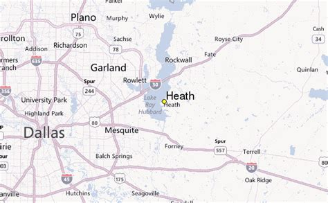 heath texas map heath weather station record historical weather for heath texas