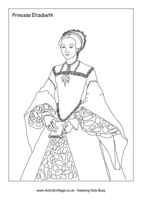 coloring pages elizabeth 1000 images about kid s study ireland scotland