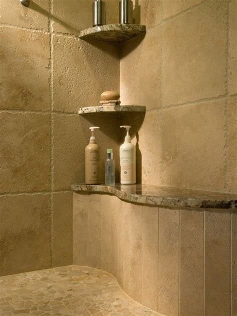Master Bathrooms With Walk In Showers Shower Designs Showers And Shelves On Pinterest