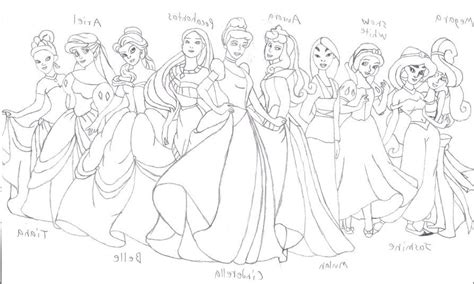 Princess Cadence Coloring Pages Coloring Home All Disney Princesses Together Coloring Pages