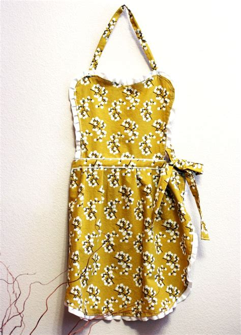 tutorial sew apron diy apron sew cute pinterest